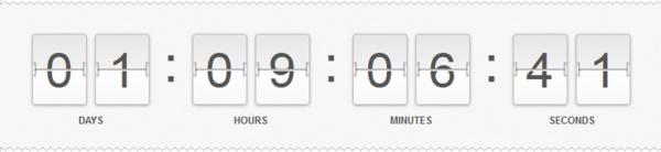 Fiverr countdown timer screenshot