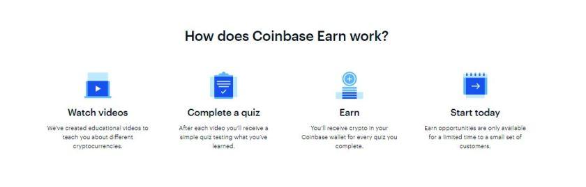 Earning in coinbase earn