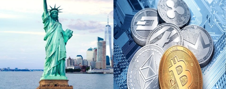 cryptocurrency in New York