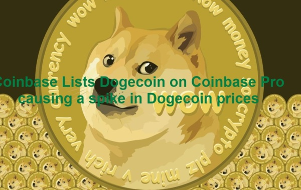 Coinbase lists Dogecoin in its profetional trading platform